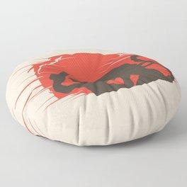 Ash vs Aliens Floor Pillow