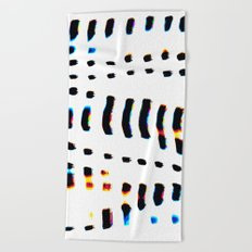Digital Jacques Beach Towel