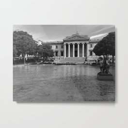 Justice should be Colorless Metal Print