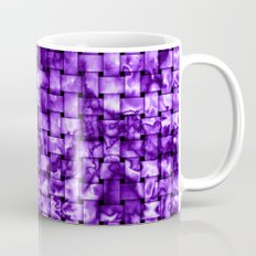 Purple Satin Weave Effect Mug