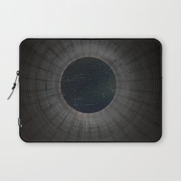 Looking up a Nuclear Cooling Tower Laptop Sleeve
