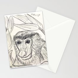 Proboscis Monkey Pal Stationery Cards