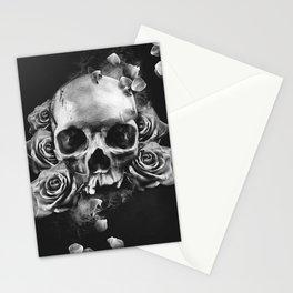 SKULL & ROSES II Stationery Cards