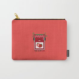 This is My (Strawberry) Jam Carry-All Pouch
