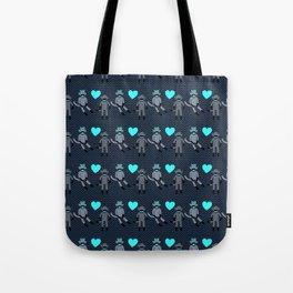 Sock Monkey Love Tote Bag