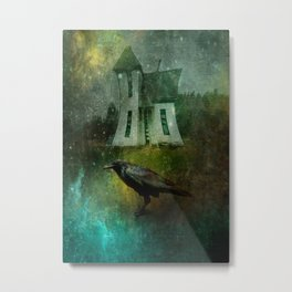 Crow House Revisited Metal Print