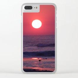 South Carolina Sunrise Clear iPhone Case