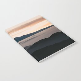 CLOUDY MOUNTAINS Notebook