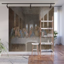 Leonardo da Vinci's The Last Supper Wall Mural
