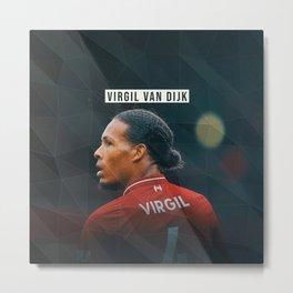 Virgil van Dijk Metal Print