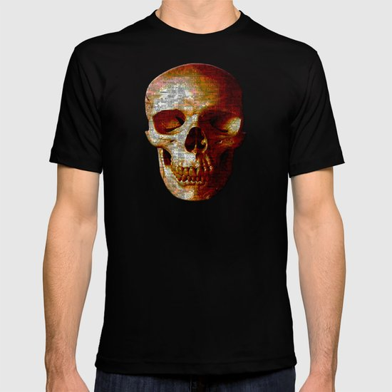 Exploiting Digital Behavior (P/D3 Glitch Collage Studies) T-shirt