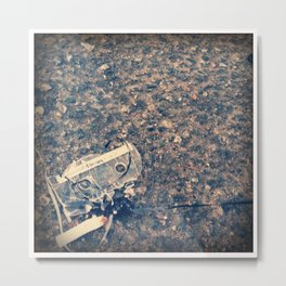 Lost Mix Tape Metal Print