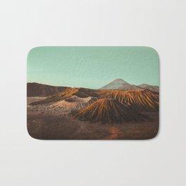 Bromo volcano, Indonesia Bath Mat