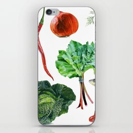 FOOD iPhone Skin