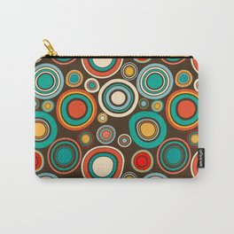 Vintage abstract seamless pattern with round shapes Carry-All Pouch