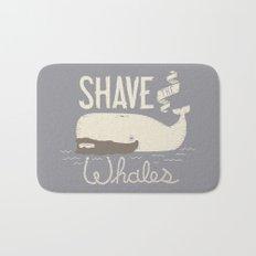 Shave the Whales Bath Mat