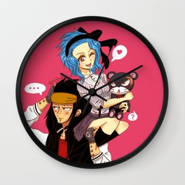 Gajeel x Levy Wall Clock