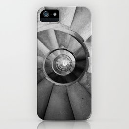 La Sagrada Familia Spiral Staircase iPhone Case