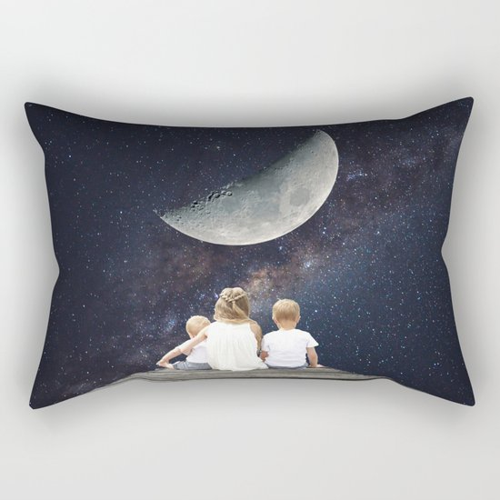 Night Wish Rectangular Pillow