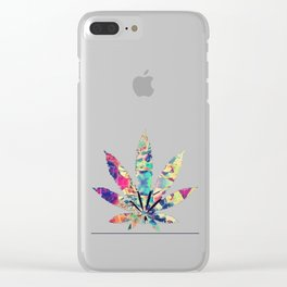 Psychedelic Maria Clear iPhone Case