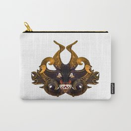 Demon Tribal Mask Carry-All Pouch