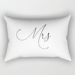 Just Married 'Duvet Queen's Mr & Mrs designer Wedding gift Pillows Rectangular Pillow