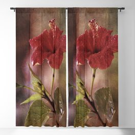 Flower Art I (two parts edition) Blackout Curtain