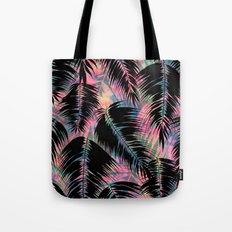 Maui Palm {Black A} Tote Bag
