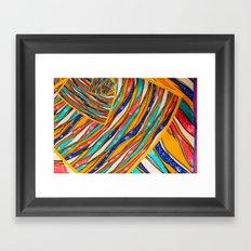 Fun Art Pattern Framed Art Print