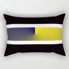 Team Colors 3...navy,yellow Rectangular Pillow