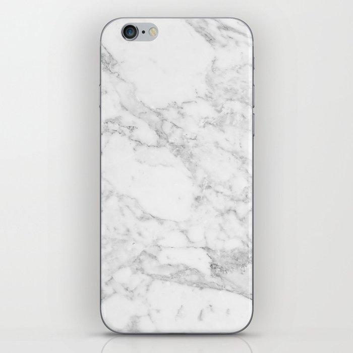 White Marble Edition 2 iPhone Skin