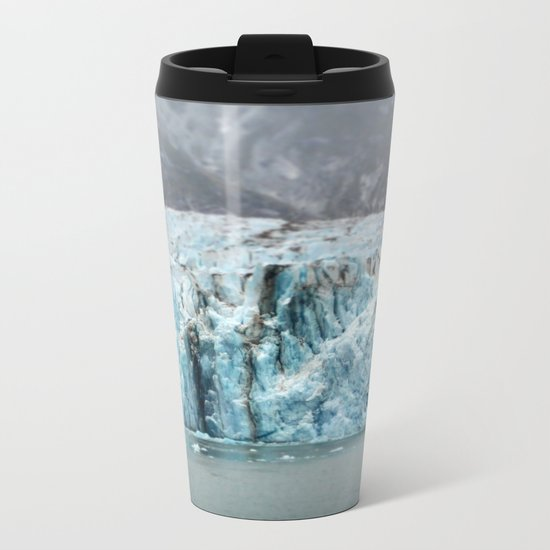 Glacier in Focus Metal Travel Mug