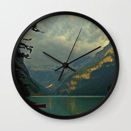 At A Loss For Words Wall Clock