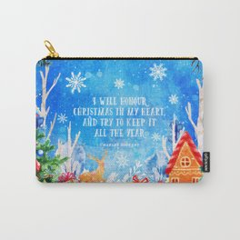 I will honour christmas in my heart Carry-All Pouch