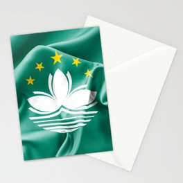 Macau Flag Stationery Cards