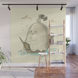 Ghost Ship Wall Mural