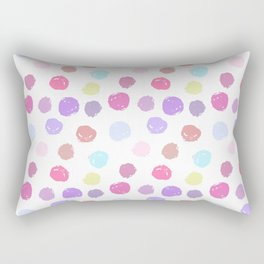 circles (25) Rectangular Pillow