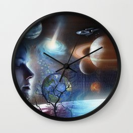 Extraterrestrial Civilizations  Wall Clock