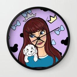 Katie Katie Wall Clock