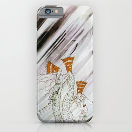 Kay Nielsen - Three Princesses Amazed By Snowstorm iPhone Case