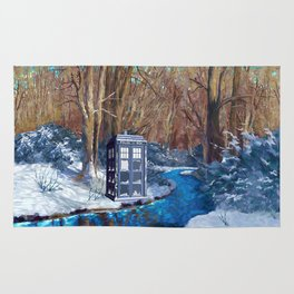 Frozen Tardis Doctor who iPhone 4 5 6 7 8, pillow case, mugs and tshirt Rug