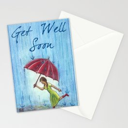 Caught in the Storm Stationery Cards