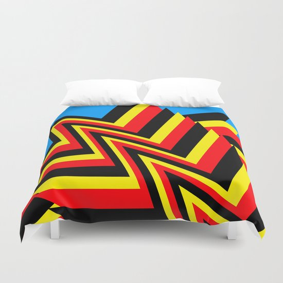 Swishy-Swashy Duvet Cover