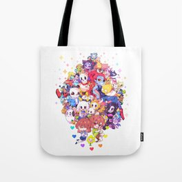 UNDERTALE MUCH CHARACTER Tote Bag