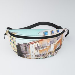 Buildings of Agropoli Fanny Pack