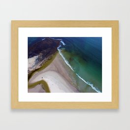 Tidal Change Framed Art Print