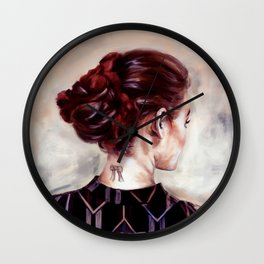 Gaze (version) Wall Clock