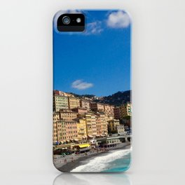 The Colors of Camogli iPhone Case