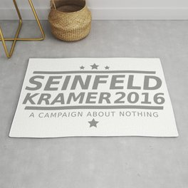 Seinfeld Kramer 2016 A Campaign About Nothing Rug