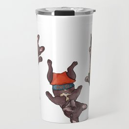 Mojo, Ocho, Herman Travel Mug